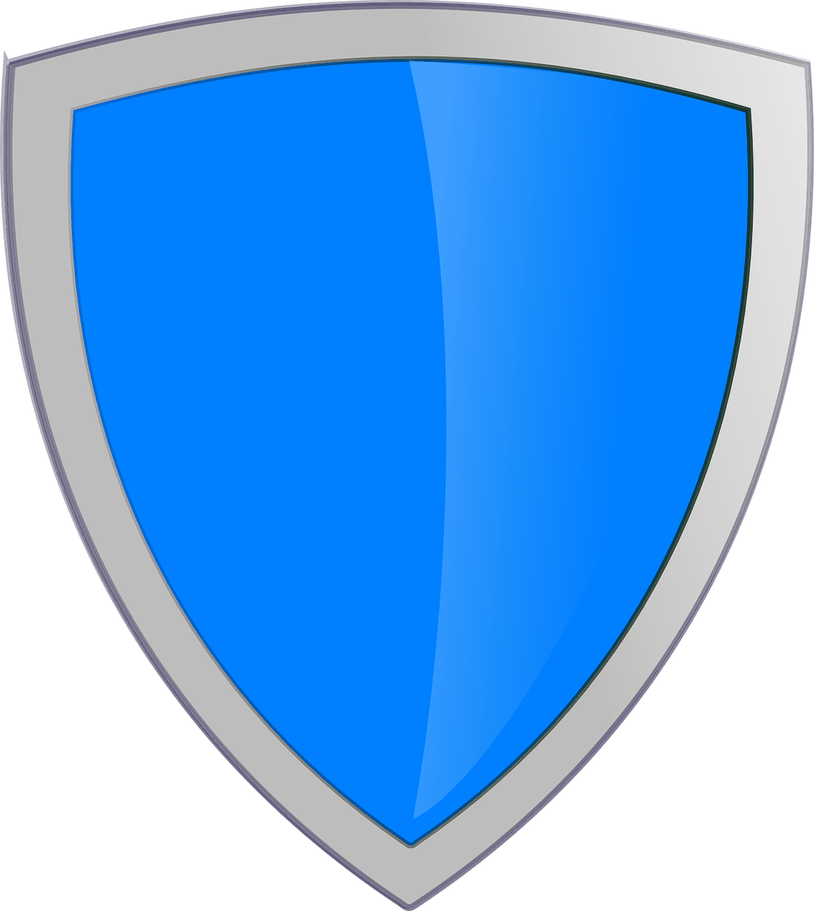 shield, blue, security